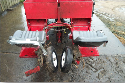 Piece of soil conservation equipment