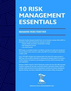 Cover of 10 Risk Management Essentials document