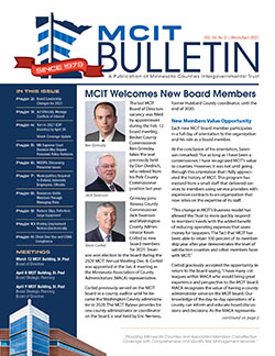Cover of MCIT Bulletin March/April 2021 issue